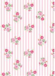 Fondo celeste muy claro con flores rosadas | Fondos ...
