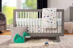 One of our Best Baby Cribs of the Year, Check out the Babyletto Hudson Convertible Crib with Toddler Bed Conversion Kit, Grey : Hudson Crib Gray : Baby