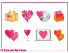 Vector Heart Designs