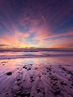 lunar symphony (torrey pines state beach) by Max Vuong Beautiful Sunset, Beautiful World, Beautiful Places, Beautiful Pictures, Lovely Things, God Is Amazing, Torrey Pines, Dawn And Dusk, Gods Creation