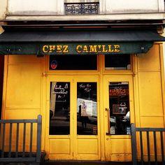 Lisa Congdon - Paris storefronts