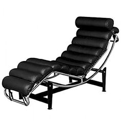 Le Corbusier LC4 Lounge padded Chair 1928