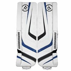 Warrior Ritual Intermediate Hockey Goalie Leg Pads - 2012 Also comes in black silver and white