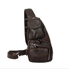 Paonies Men Women Genuine Leather Satchel Cross Body Chest Bag for Sport Travel (Coffee) Paonies http://www.amazon.co.uk/dp/B012C627RS/ref=cm_sw_r_pi_dp_Wcfvwb0A89ARV