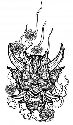 Tattoo art giant hand drawing and sketch black and white Premium Vector Leg Tattoos, Black Tattoos, White Over Black Tattoo, Body Art Tattoos, Sleeve Tattoos, Ink Link, Clover Tattoos, Demon Tattoo, Doodle Tattoo