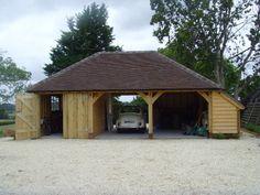 Oak framed garages gallery