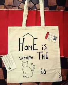 "Shopper bag ""The Cat Lady"" Commission."