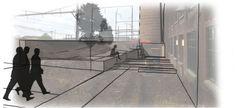 LANDSCAPE ARCHITECTURAL DESIGN – PLANTING DESIGN ~  Merit Award ~   AMBLER BOILER HOUSE ~  Ambler, Pennsylvania ~  LANGAN