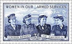 3 cent stamp/Old Postage Honoring Women who served