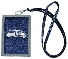 Seattle Seahawks Beaded Lanyard Wallet #SeattleSeahawks