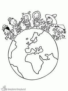 Diversidade Cultural Desenhos para Colorir