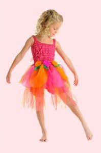 Bright Rainbow Coloured Tutu www.princessdresses.com.au