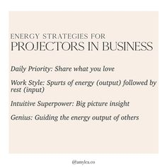 Energy tips for Projectors in business Positive Affirmations, Positive Quotes, Human Design System, H Design, Mind Body Soul, Business Design, Words Quotes, Inspire Me, Positivity