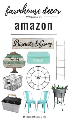 Affordable farmhouse decor on Amazon can help you achieve that Fixer Upper style we all know and love! I love shopping for home decor on Amazon in the comfort of my jammies :) More links on the blog www.theharperhouse.com