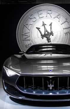 Visit The MACHINE Shop Café... (Best of Maserati @ MACHINE) Beautiful Maserati Alfieri Coupé