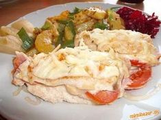 delikatesne zapecene kuracie prsicka Potato Salad, Food To Make, Recipies, Food And Drink, Menu, Chicken, Cooking, Ethnic Recipes, Recipes