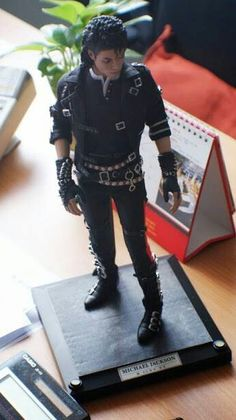 Michael Jackson Bad Hot Toy 12 inch figure.