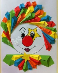 free clown craft | Crafts and Worksheets for Preschool,Toddler and Kindergarten