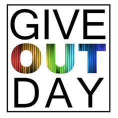 Please join me in supporting the LGBTQ community as part of Give OUT Day 2015, which is running through May 21, 2015 until 11:59 pm Eastern. Please join me in helping support the over 500 groups from all 50 states taking part in this 24 hour fundraising challenge for the LGBTQ community. www.giveoutday.org.