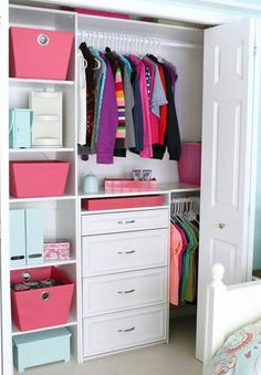 Storage Ideas For Girls Bedroom 007