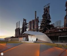industrial heritage, The Levitt Pavilion / WRT – Wallace Roberts & Todd The Levitt Pavilion is the focal point of the 9.5-acre SteelStacks Arts and Cultural Campus, part of the larger re-development of the former Bethlehem Steel mill,