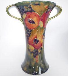 William Moorcroft 1897-1945 . William Moorcroft for Liberty & Co. Pomegranate vase c1912