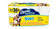 Charmin Essentials Soft Bathroom Tissue, Pack Of 16 Giant Rolls $6.92 Each Shipped