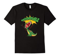 Funny T-Rex Shirt | Unstoppable   #funnyshirts #funnypictures small arms