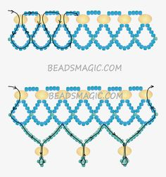 Free pattern for necklace Alaska | Beads Magic