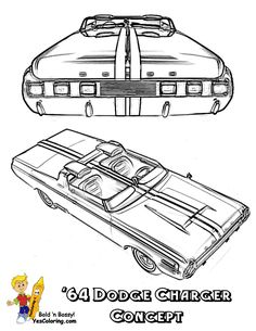 Your Power Muscle Car Printables Of These Most Sought After Cars Plymouth Gran Torino Thunderbolt Galaxie Coronet