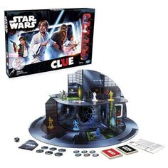 Clue Star Wars Edition Hinges The Fate Of The Galaxy On Your Deductive Reasoning Clue: Star Wars Edition doesn't entirely feel like Clue to us. Don't take that as a bad thing. It's a standard re-skin of a classic board game with. Disney Stars, Games For Kids, Games To Play, Clue Games, Game Storage, Classic Board Games, Star Wars Games, Darth Vader, Death Star