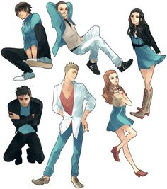 Teen Wolf in Anime
