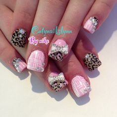 Photo by citynailslynn Adorable only zebra print would be way better!
