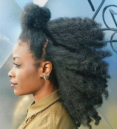 Natural Hair -- Found on http://wonderpiel.com/pages/10-most-remarkable-beauty-tips-ever