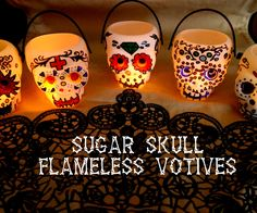 This is a quick, fun and easy project that is great for Halloween and year round. This is the remix of Sugar Skull String Lights !
