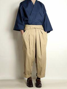 Mens Fashion Wear, Fashion Outfits, Male Kimono, Cool Outfits, Casual Outfits, Modern Kimono, Tokyo Street Style, Japan Fashion, Look Cool