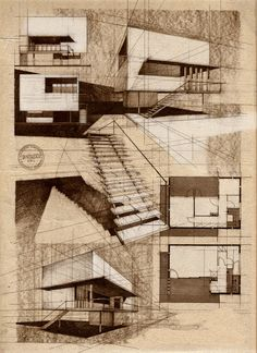 A collection of architecture sketches and drawings (mostly and hopefully by hand) focused firstly on...
