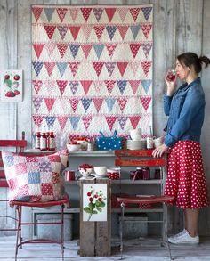 The Candy Bloom Quilt – Free pattern! | Tildas World