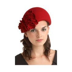 Claudette Hat found on Polyvore
