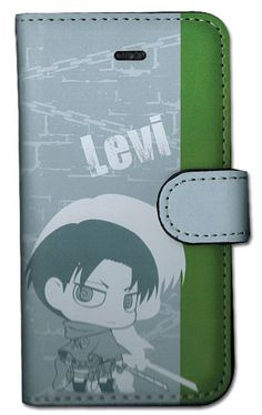 Crunchyroll - Store - Attack On Titan Levi SD IPhone 5 Case