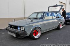 This Corolla wagon is hot as f**k