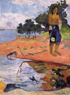 Paul Gauguin French, Haere Pape, 1892