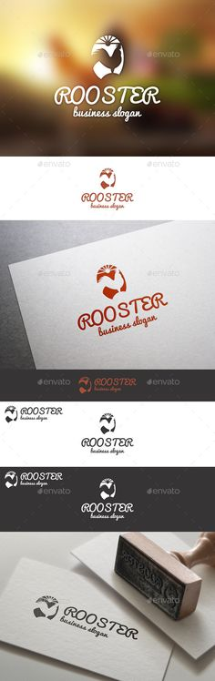 Rooster Farm Animal Logo Template An excellent logo template suitable for agriculture business, egg business, chicken meat, app, cafe or restaurant, breakfast cafe, chicken business, cuisine business, early morning concept, egg firm, farm logo template, fast food, food logo template, natural products, nature theme, poultry logo template, media business, startup projects, or any your ideas.