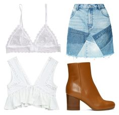A fashion look from July 2017 featuring white crop tops, blue skirt and brown ankle booties. Browse and shop related looks. Ankle Booties, Southern, Fashion Looks, Booty, Crop Tops, Skirts, Polyvore, Blue, Shopping