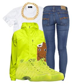 """Untitled #574"" by iluvhaters143-749 ❤ liked on Polyvore featuring Polo Ralph Lauren, Marc by Marc Jacobs, Moschino, Nudie Jeans Co. and NIKE"