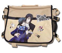 Black Butler Backpack | YesAnime.com | Black Butler Sebastian & Ciel With SD Others Bag