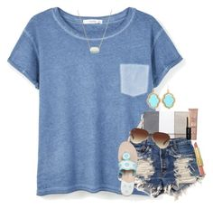 """absolutely love my new little sis!!"" by sdyerrtx ❤ liked on Polyvore featuring Too Faced Cosmetics, MANGO, Levi's, Ray-Ban, Jack Rogers, Bobbi Brown Cosmetics, tarte, Kendra Scott and lovemylittlexx"