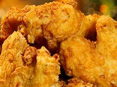 Neely Family Spicy Fried Chicken from FoodNetwork.com, this has been my go to recipe for two years an my family loves fried chicken night