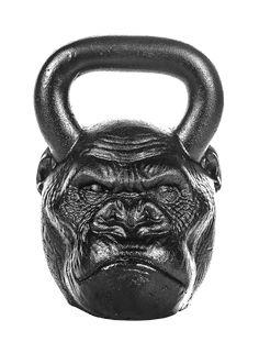 Black Athlyt Unisexs Cast Kettlebell Ergo 12 kg