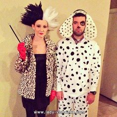 http://fr.halloween.lady-vishenka.com/kostyum-kruelly-na-hellouin/ 15. Halloween déguisement — Cruella De Vil - 25 IDÉES
